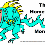 The Homework Monster and the Flipped Classroom