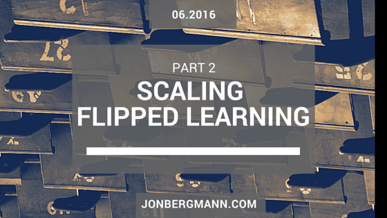 Scaling-Flipped-Learning-Part-2